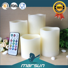 2016 New Fashion Design Flameless Real Wax Led Candle Light