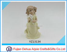 Arjoie Home Decoration Lovely Ceramic Fairy Figurines
