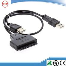 "USB 3.0 to SATA 22 Pin 2.5"" Hard disk driver Adapter With USB 2.0 Power cable"
