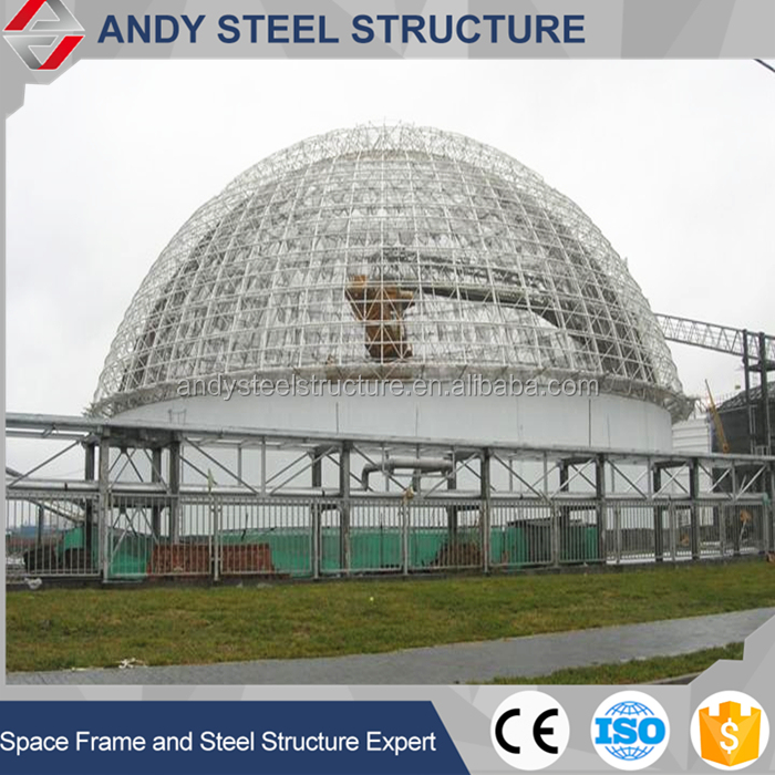 Prefab Steel Framing Dome Roof Building