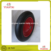 cart wheel solid rubber tires solid wheel 4.80/4.00-8
