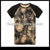 Free shipping 3 colors universe galaxy printed men's apparel