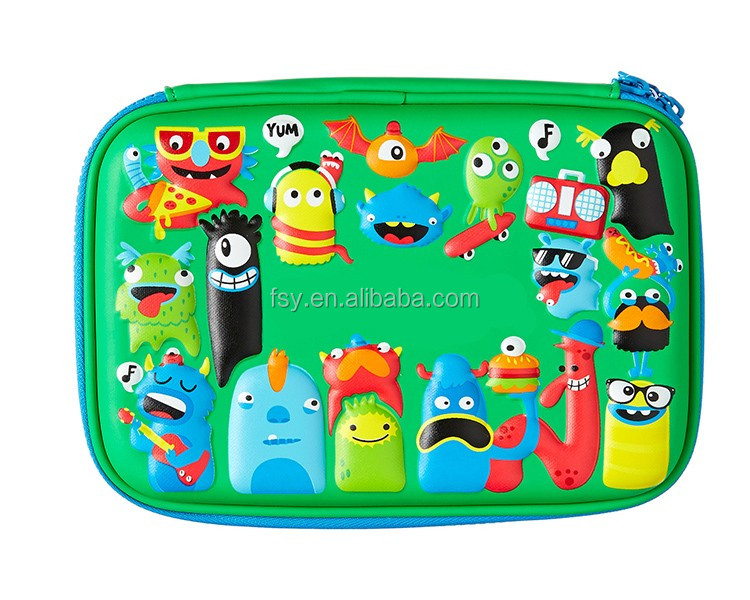 2016 good cute pencil box german patterns pencil case items for kids