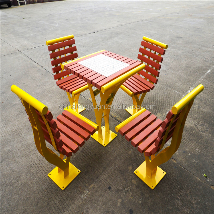 Hot Sale Outdoor Popular HDPE Plastic Picnic Dining Table