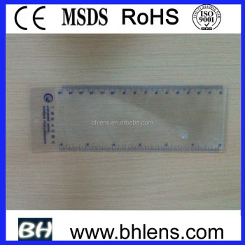 BHM-06 flexible transparent plastic magnifying sheet