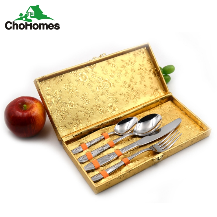 Japan stainless steel flatware sets Spoon and Fork and knife