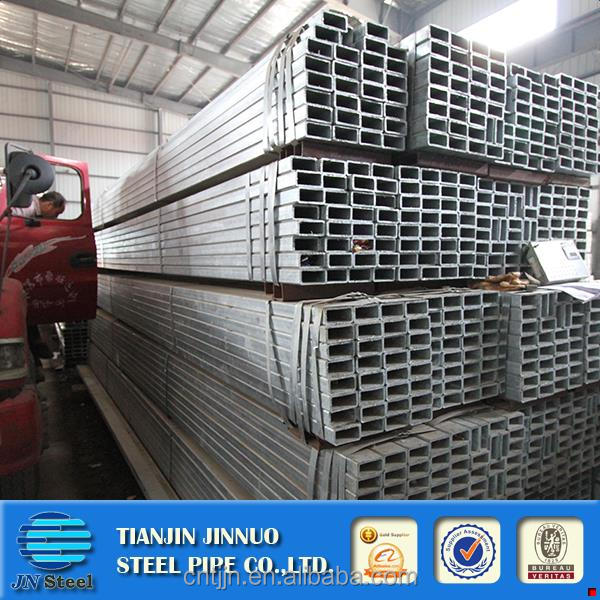 Hot selling pre galvanized pipes/tubes/hollow sections pre-galvanised steel rectangular pips