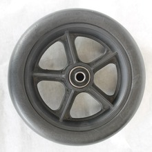 Integral skin pu foam solid wheelbarrow wheels