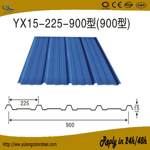 color corrugated metal roofing sheet prices new design