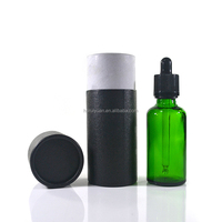 black amber clear green blue matte e liquid 30ml essential oil e juice glass dropper bottle with paper tube