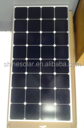 Clear Energy Type sun power solar panel in alum frame with junction box