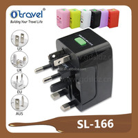 Hottest All-in-one Universal Swiss World Travel power adapter with Surge Protection