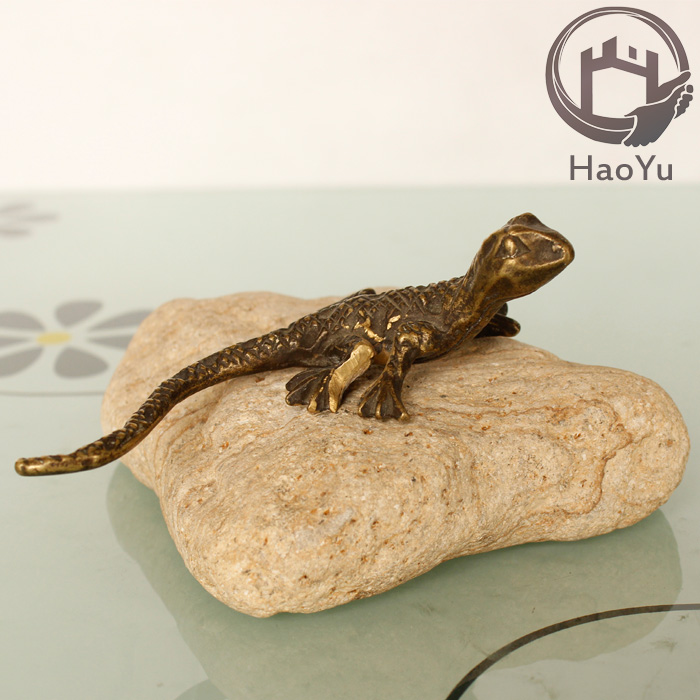 casting Lizard wrought iron ornaments for home decor