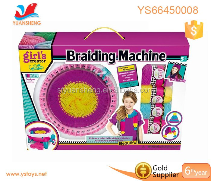 knitting diy weaving scarves hats children knit beanie making machine make my own knitting hat machine toy