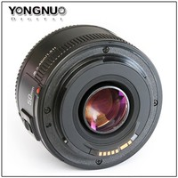 Yongnuo 50mm f 1.8 AF Lens YN50 Aperture Auto Focus for Canon EOS DSLR Cameras