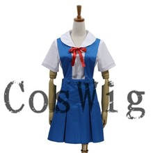 EVA Costume Asuka or Rei Anime cosplay Costume uniforms Halloween Costume
