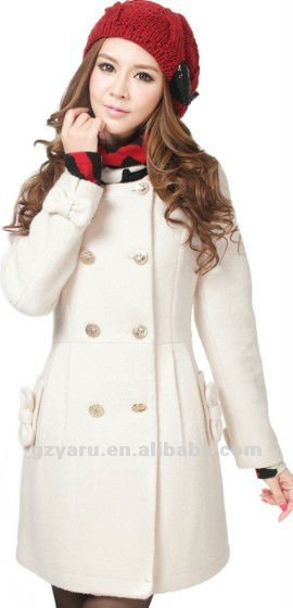 coats for woman red new style 2013 leather white long wool fur