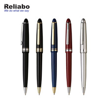 Reliabo High Quality Promotional Custom Gift Business Souvenir Luxury Metal Roller Ball Pen