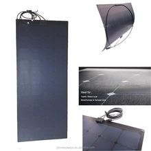 High efficiency factory hottest selling 120W ETFE Flexible Sunpower solar panel Price From China