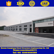H sections two-story steel structure metal buildings