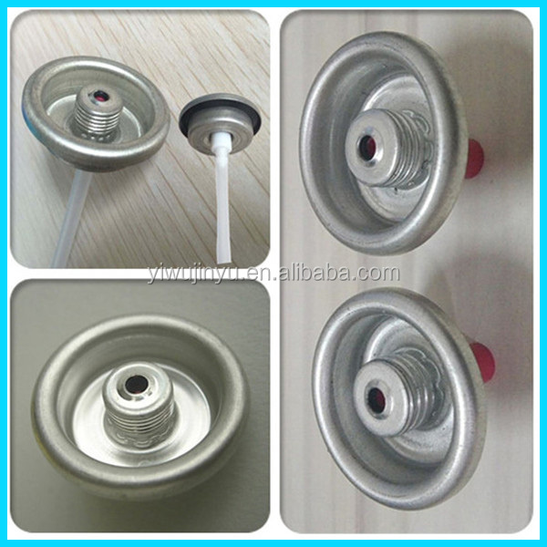 aerosol spray cap with thread valve 7/16 NS