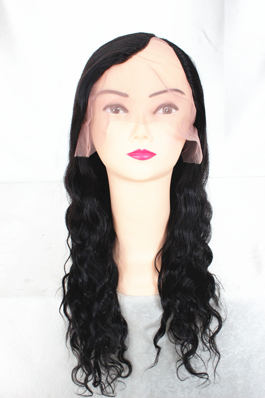 2014 Premier Wigs African American Women wholesale price brazilian virgin human hair u part wig