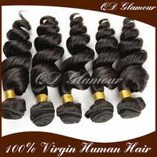 Double wefts full cuticle and tangle free 100% Human Virgin brazilian Hair Vendors