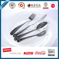 supreme quality stainless steel flatware, fashin cutlery set steel