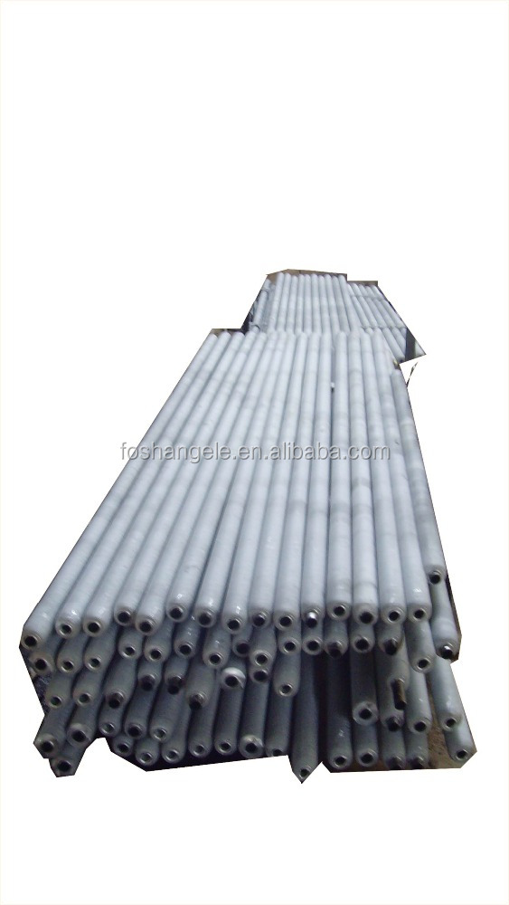 China Manufacturer Aluminum Refrigeration Extruded Fin Tube Coil for Rotogravure Printing Machines