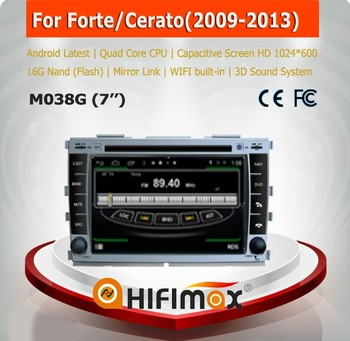 Hifimax car dvd gps for Kia Sorento(2002-2009) radio WITH Quad Core CPU 16G Hard disk HD1024*600 capacitive screen