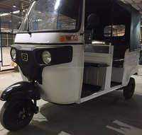 Golden Supplier Self-design Piaggio Motor King Passenger Tuk Tuk Bajaj Tricycle (Model: BJ200ZH-2E)