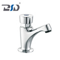 Brass Time-delay basin faucet ,chrome plating water basin faucet made in professional factory