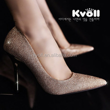 2014 Pointed toe shoe high heel shoe lady shoe
