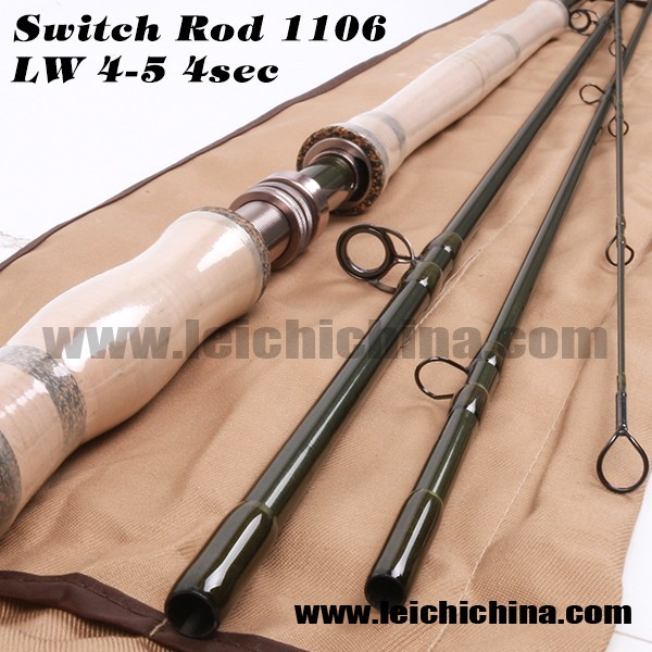 Hot saled new chinese Switch IM10 carbon fly fishing rod