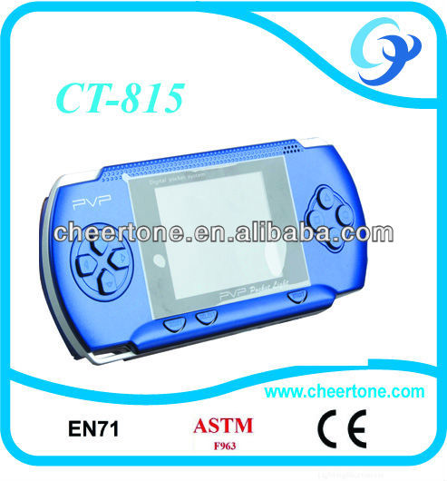 8bit 2.7 inch TFT LCD multicolor screen pocket handheld game, pvp pocket game console games in 2012