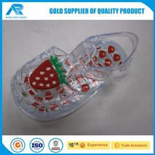 Customized jelly shoes for women with low price in Taiwan