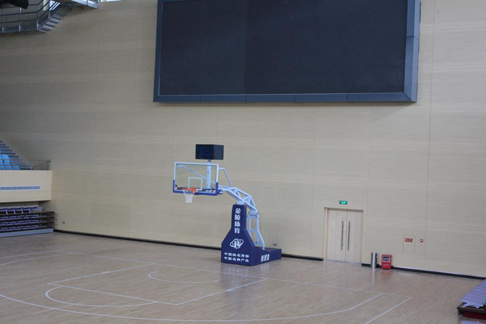 wooden acoustic wall panels for gymnasium