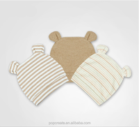 bear printed cute Comfortable Baby hat
