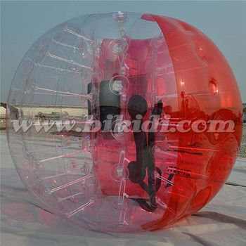 Factory price bubble football, loopy ball, bumper ball PVC hot sale D5104