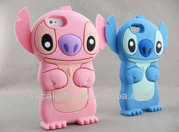 Animal Silicone pc case for iphone 5