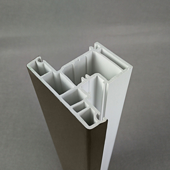 ASA co extrusion European casement window pvc profile