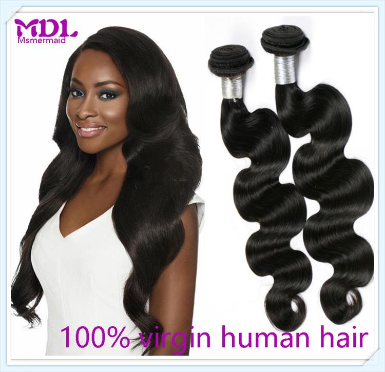 Machine Double Drawn Virgin Malaysian Hair Unprocessed 100% Human Hair Dubai Wholesale Market