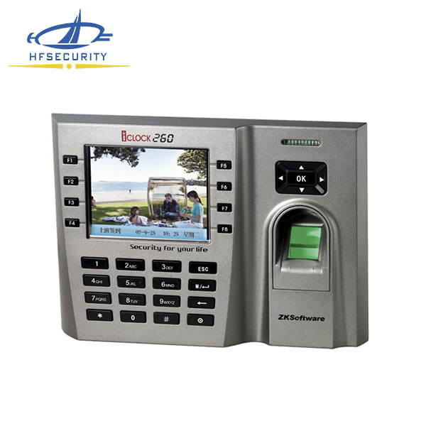 8 Function Keys Biometric Control ZK Software (HF-Iclock260)