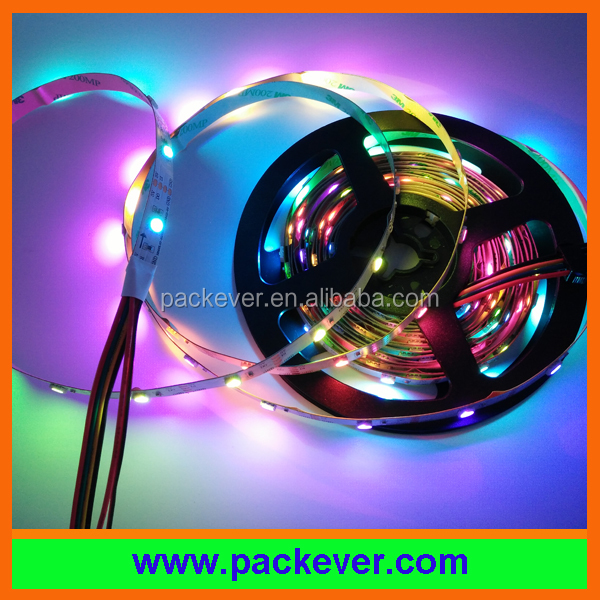 Addressable RGB LED strip sk6822 IC 30led/m 60led/m 144led/m