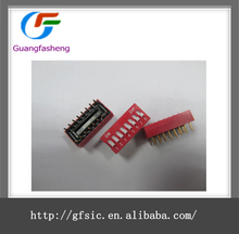 BP/BS series 8 pin DIP switch