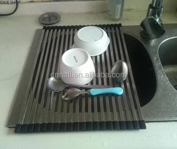 304 6*0.3Stainless Steel Wash Rack foldable