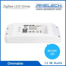 single channel 48v dc power supply zigbee led constant current dimmable led driver
