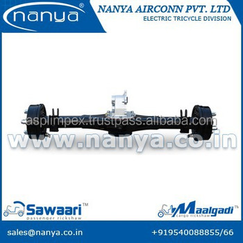 electric rickshaw driving rear axle