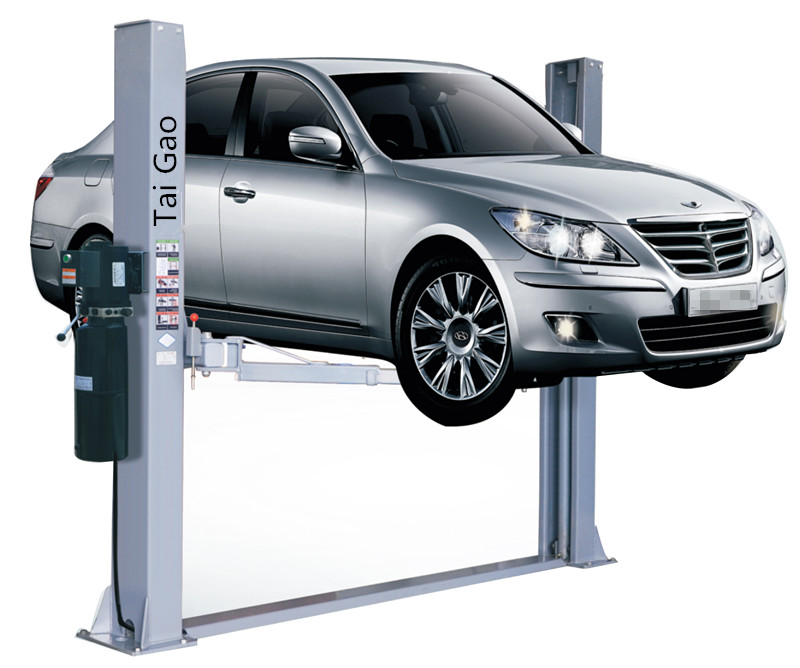 China cheap 3.5ton Capacity mobile 2 post hydraulic car lift