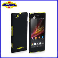 Rubberized Matte Hard Case for Sony Xperia M C1905 Back Cover